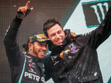 Mercedes leading 'because there is a god of racing'
