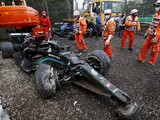 """Bottas: Imola F1 incident with Russell """"done and dusted"""" after apology"""