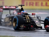 Lotus alters FP1 run plan due to weather