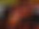 P2: Kimi pips Hamilton, Vettel hits wall