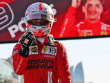Leclerc takes pole in incident-filled Baku qualifying