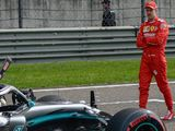 What happened to Ferrari in China?