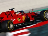 F1 testing: Morning time keeps Ferrari's Vettel on top on first day