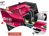 Ferrari becomes latest F1 team to copy McLaren's rear wing idea