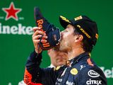 Ricciardo's 'shoey' may become a 'helmety'