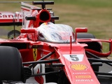 Vettel gives Shield public debut in Silverstone FP1