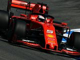 P1: Vettel fastest, Bottas in gravel