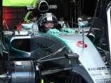 Rosberg far from happy despite P1