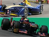 Is Formula E really challenging Formula One?