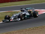 Hamilton sets pace but stops on track