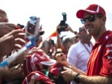 Vettel sets opening pace in Belgium