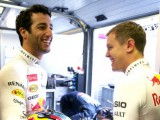 Ricciardo: Seb will push Ferrari forward