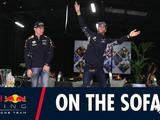 Video: On the sofa with Daniel Ricciardo and Max Verstappen