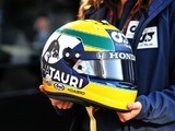 Gasly donates Imola helmet to Senna Foundation