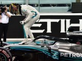 Lewis Hamilton emotional after final qualifying lap in Mercedes W09