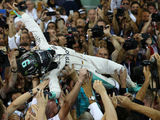 Rosberg brings a sudden end to his lustrous career