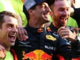 Ricciardo sends Red Bull warning