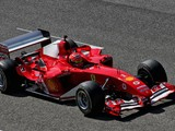 Schumacher demonstrates father's F2004 at Mugello
