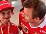 Raikkonen gesture up for Laureus award