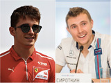 The battle of the rookies: Leclerc v Sirotkin