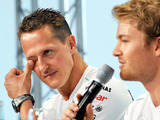 Rosberg on Schumi & a toilet helping him beat Hamilton