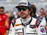 Alonso tests Toyota's Le Mans 'rocket ship'