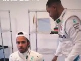 Hamilton kidnapped by Will Smith before Abu Dhabi GP!