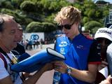 Brendon Hartley suspects tyre usage behind STR's F1 form drop