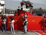 F1 test crash damage hampers Ferrari in finding cause - Vettel