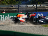 Hamilton: Don't be on Max's outside, he runs you out of road