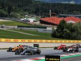 Norris admits he took more risks on opening lap of Austrian GP