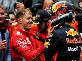 Vettel: Daniel Ricciardo was still quicker with mid-race problems