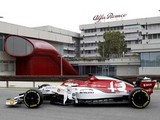 Special livery for Alfa for Italian GP