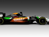 Force India releases first image of new VJM07