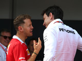 Wolff denies Mercedes held contract talks with Vettel