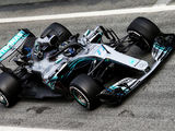 Bottas tops first practice at Barcelona