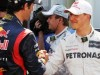 It's Michael's day, says pole man Webber