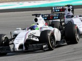 Williams happy despite bad luck with safety car