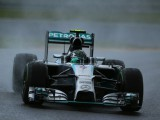 Rosberg leads Mercedes Belgian front-row lockout