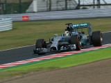 Mercedes duo share Suzuka practice honours, as FP2 becomes crash-fest