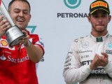 Hamilton: It's nice to see Ferrari back