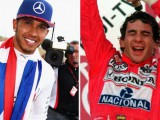 Hamilton 'humbled' to match Senna