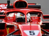 Crash damage meant less laps for Vettel