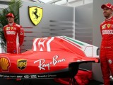 Ferrari unveils tweaked car livery at Suzuka