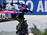 Honda assessing 'options' after Brendon Hartley's Barcelona crash