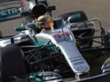 P3: Lewis leads Merc one-two