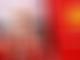 Vettel struggling in the heat at Spa