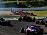Max Verstappen hits out at irresponsible Charles Leclerc after clash