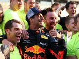 "Horner Hails ""Fantastic Team Effort"" following Red Bull's First Win of the Season"