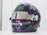 Hamilton unveils new black F1 helmet design with BLM message